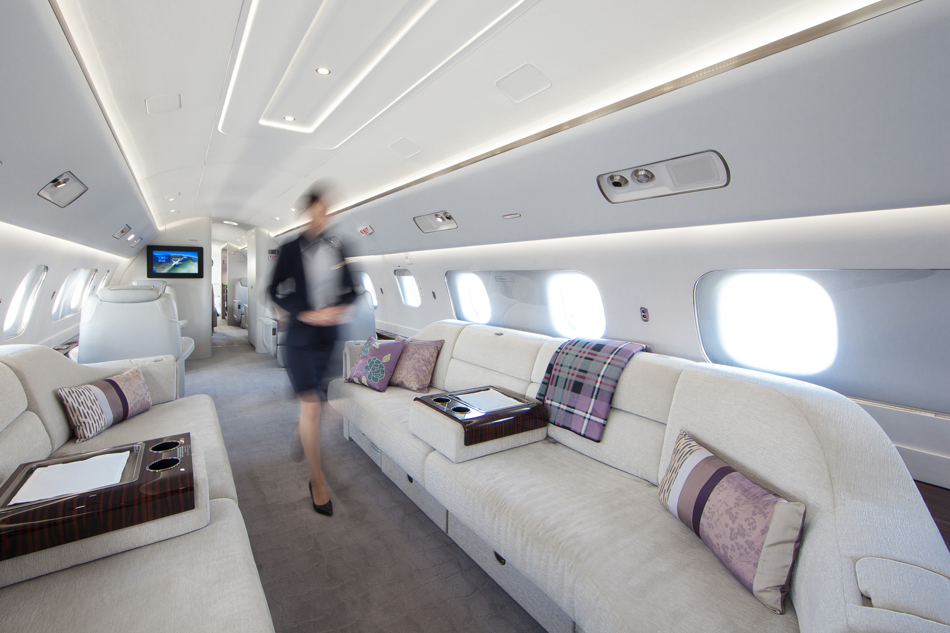 Aircraft Interiors - Luxury Photography, UAE