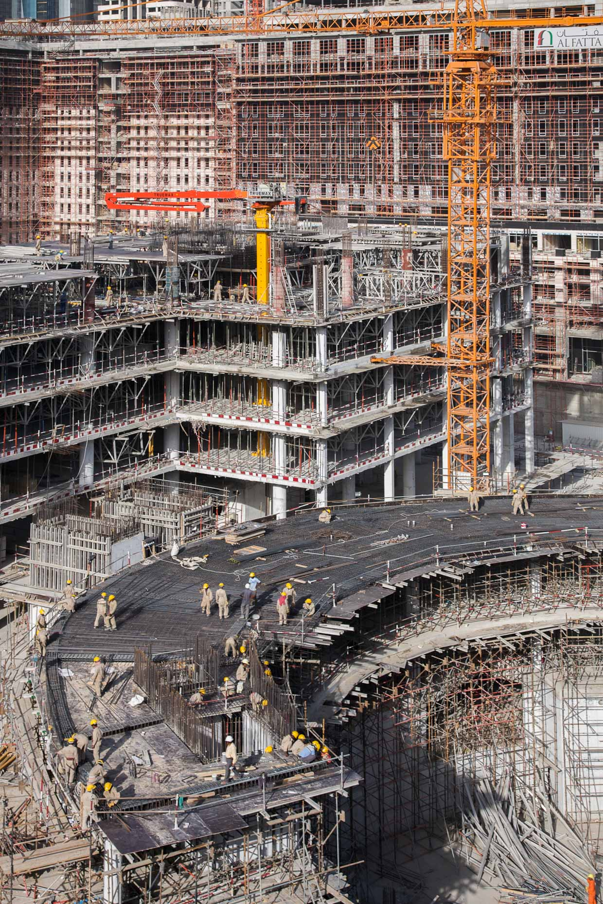DIFC Dubai Construction | Dubai Photography, UAE