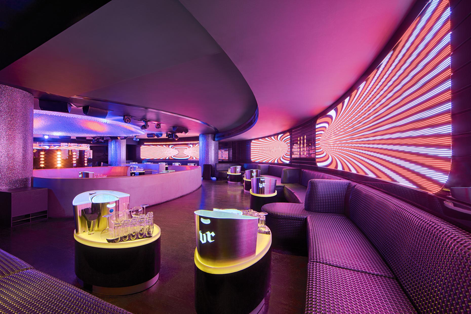 Dubai Club Venue Shot By Oliver Jackson