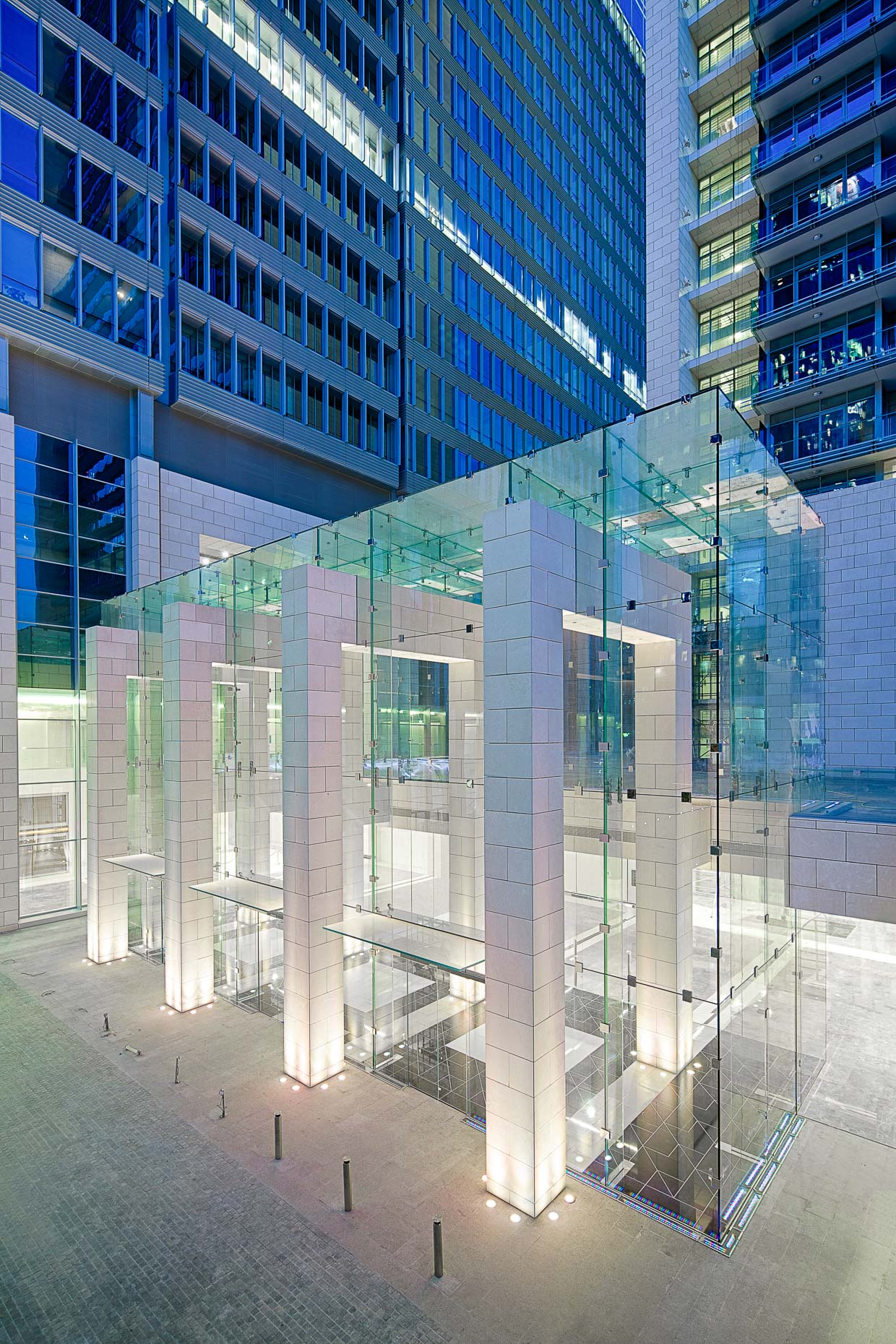 Photographers in Dubai | Glass Box DIFC