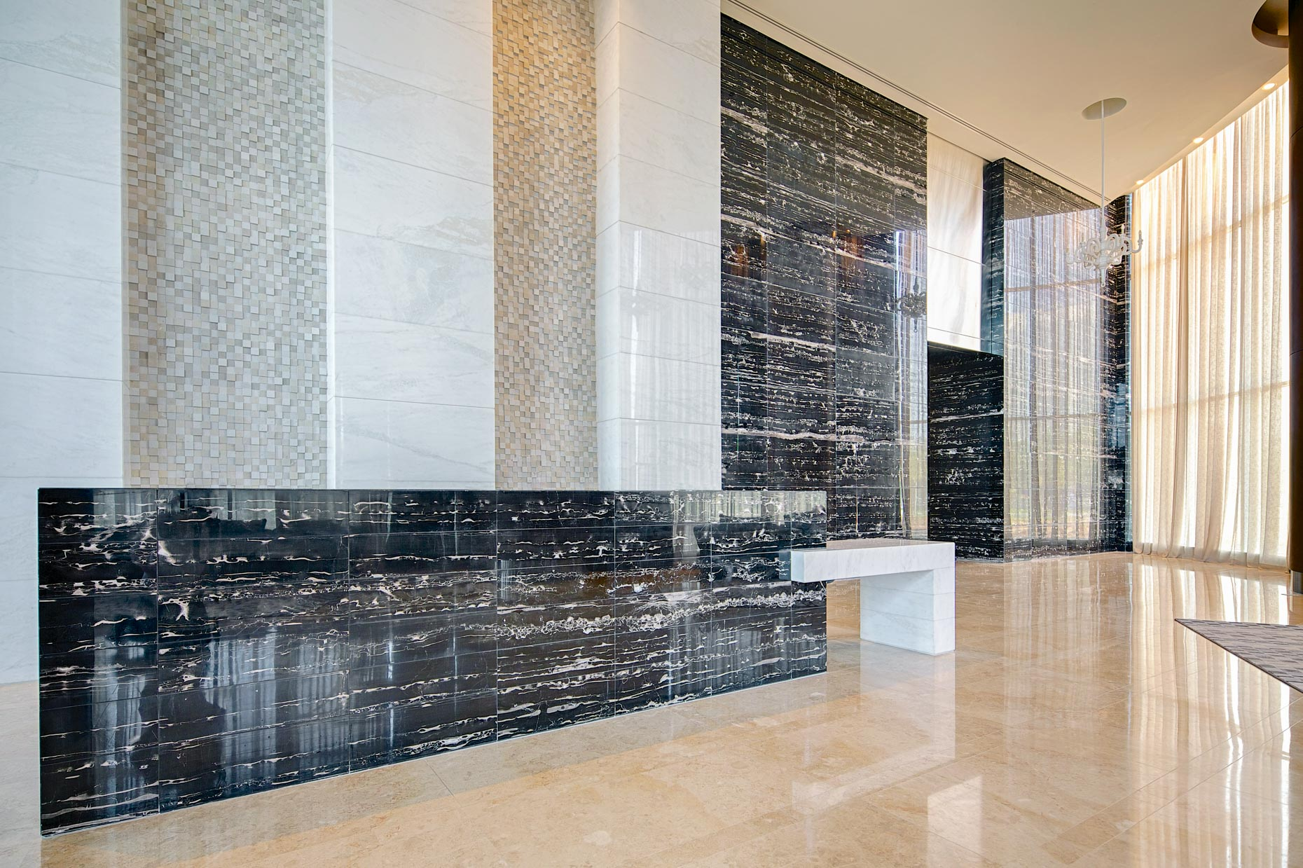 Lobby Nation Towers | Abu Dhabi, UAE