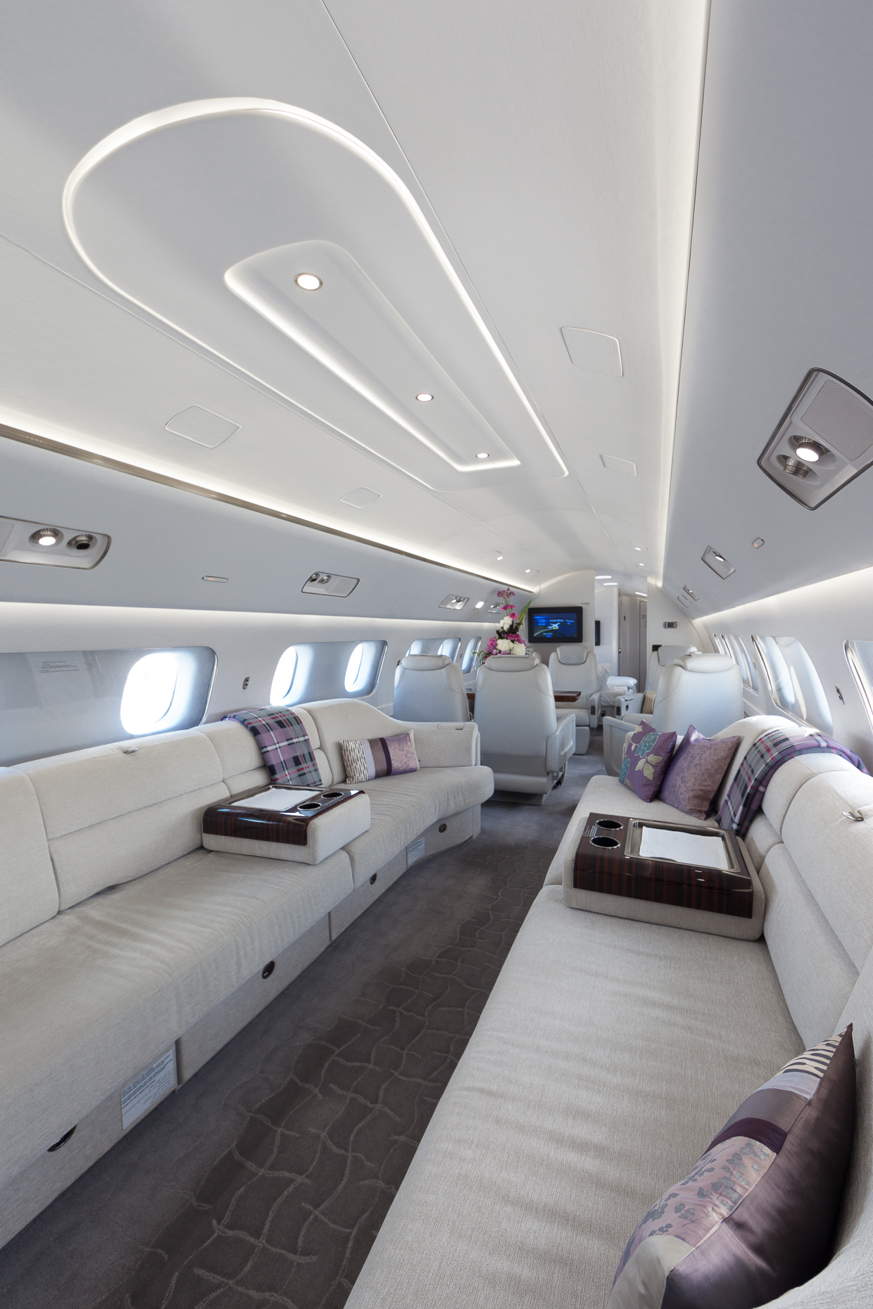 Luxurious Private Jet Photoshoot by Oliver Jackson
