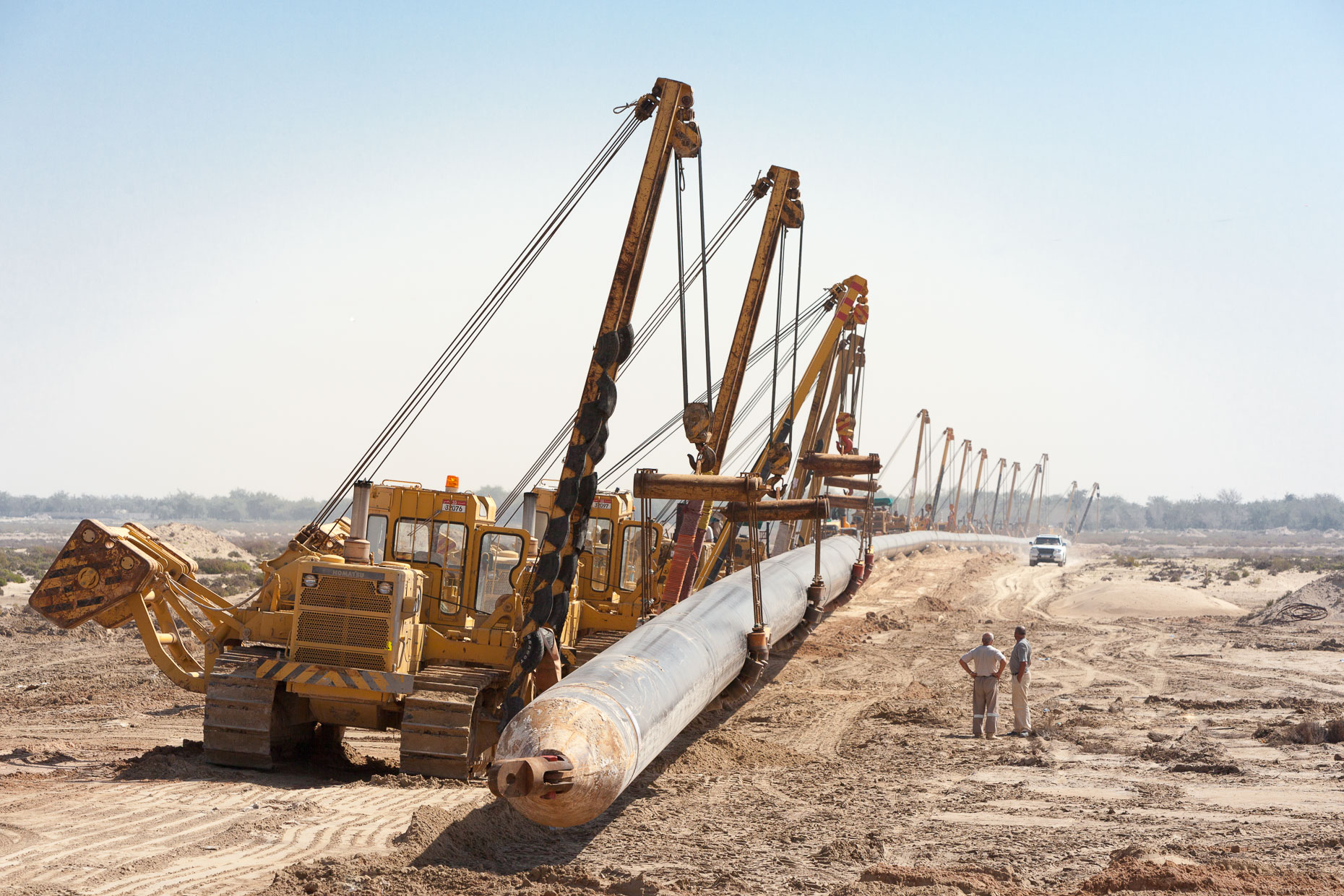 Pipe Pulling | Photographers in UAE