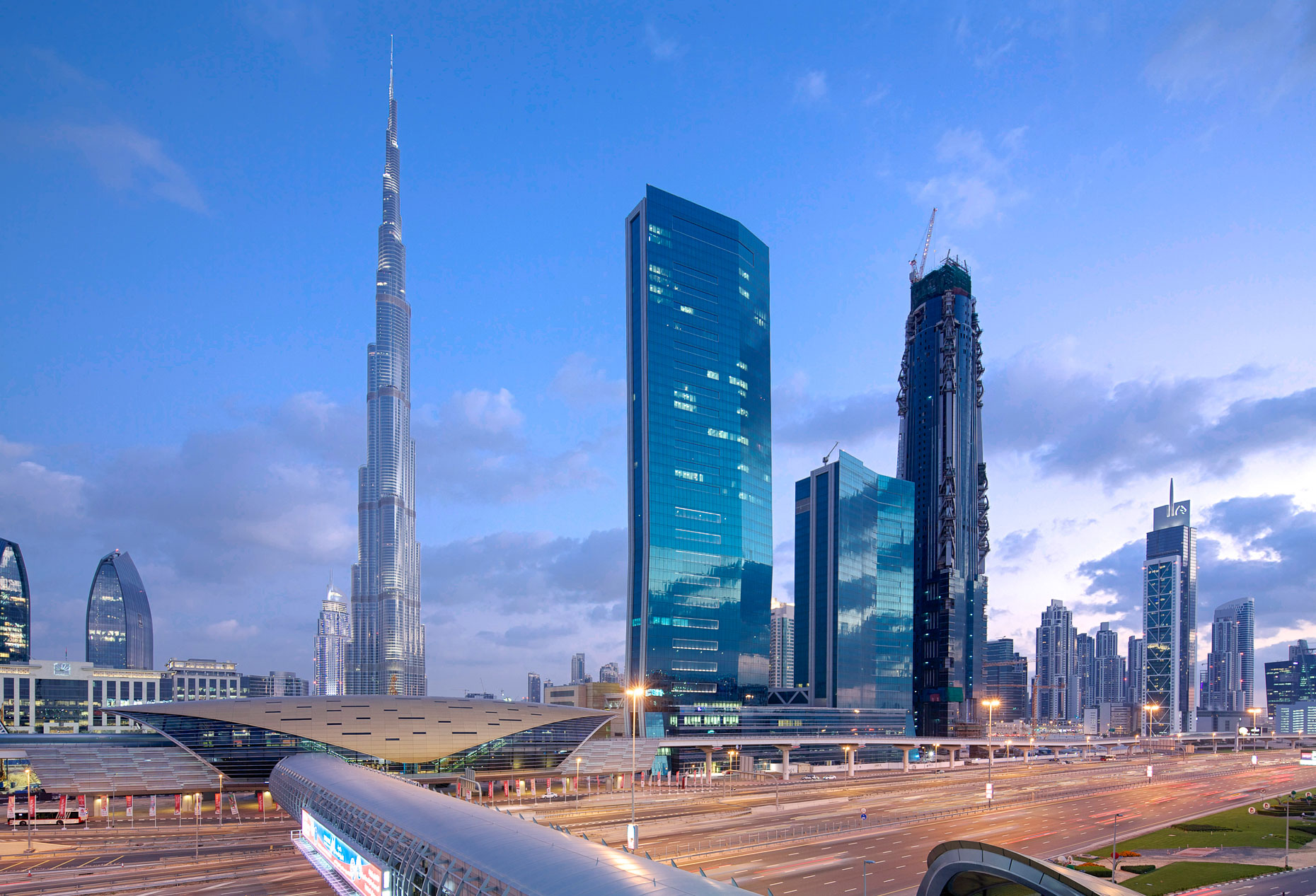 Beautiful Sheikh Zayed Road View