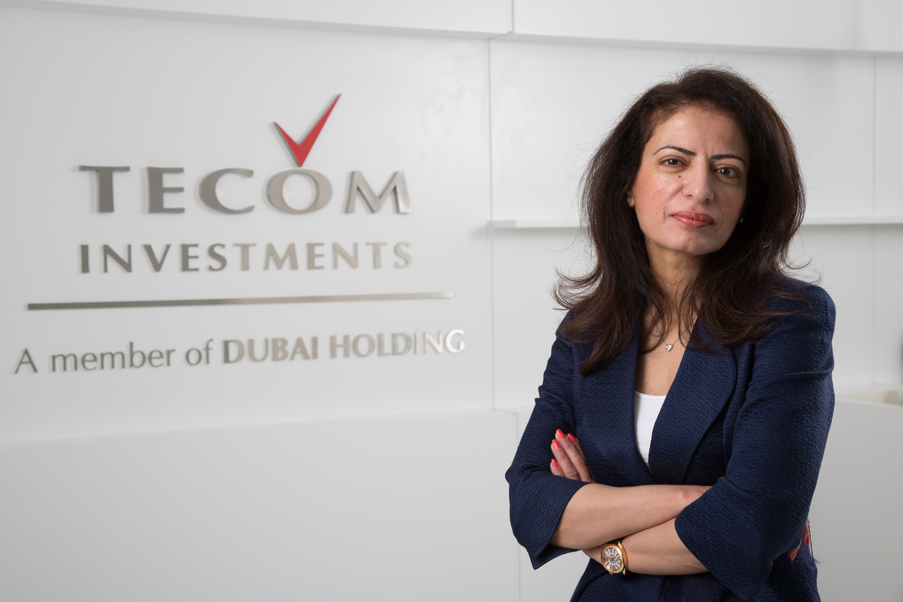Tecom CEO Portrait | Oliver Jackson Photographer in Dubai